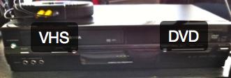 Lecteur DVD/VHS