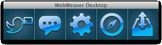 Barre d'icônes WWD