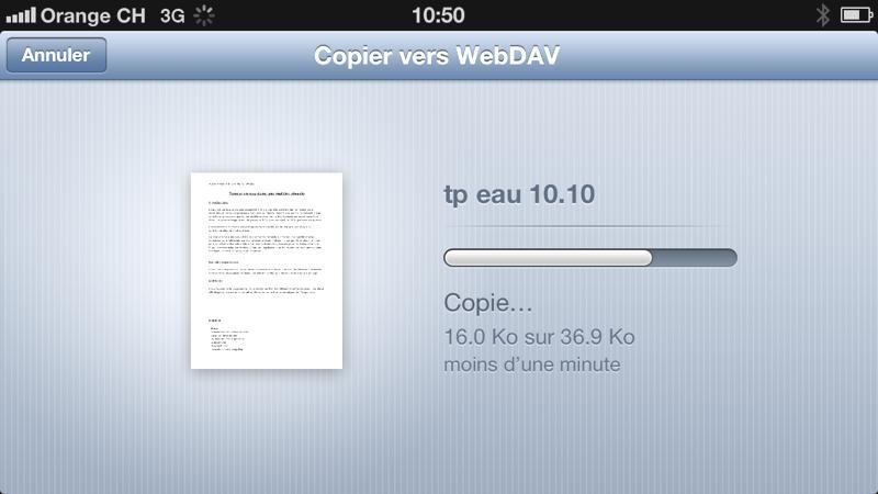 Copier le document