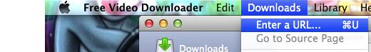 Menu Download