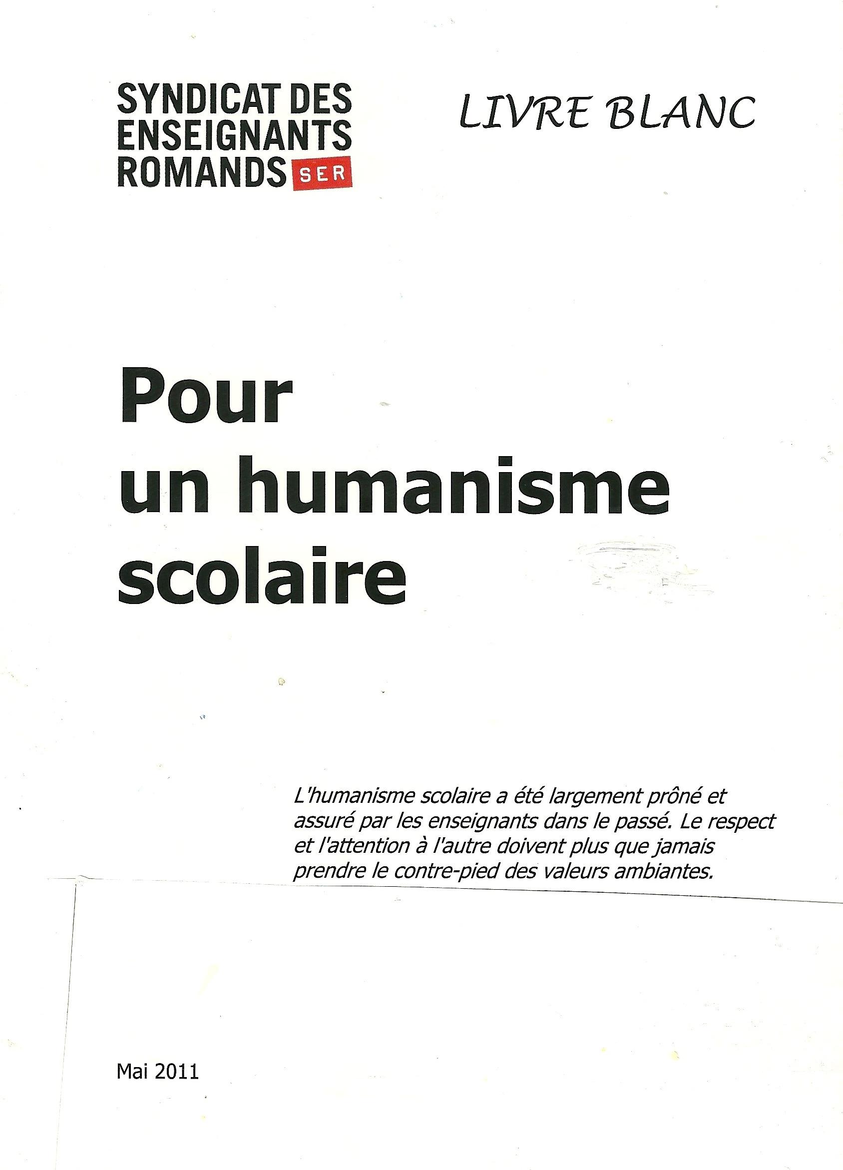 SPR livre blanc 2011