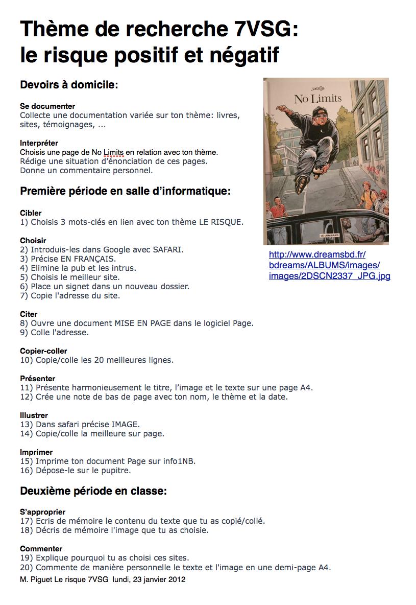 Risque WEB 7VSG